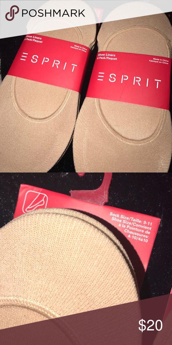 Esprit foot socks (12 pairs) Brand new esprit foot socks. A total of 12 pairs😊 Esprit Accessories Hosiery & Socks