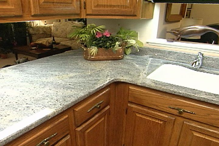 Learn how granite countertops are installed includes for Template for granite countertops