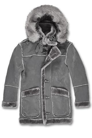adb64401a4 Denali Shearling Jacket (Charcoal) in 2019 | Coats & JAckets ...