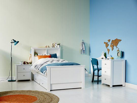 Polo Single Bed Frame with Feature Headboard main product image 4