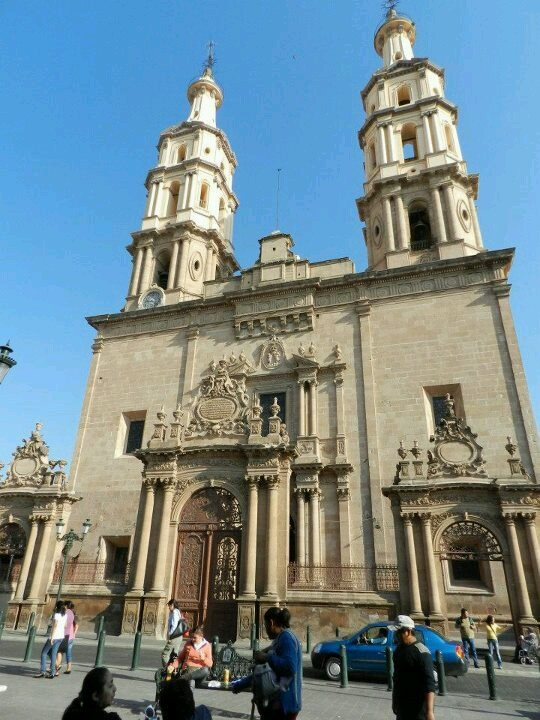 This is one of the churches in Leon, Guanajuato