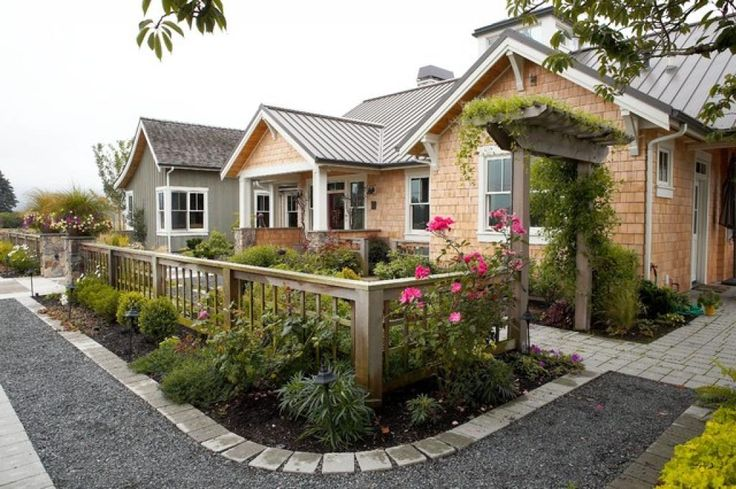 small front yard fence ideas image
