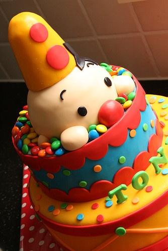Wat een leuk voorbeeld van een Bumba taart!