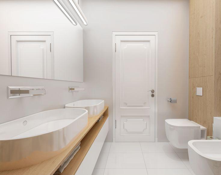 Nowoczesna łazienka   projektowanie wnętrz   troomono