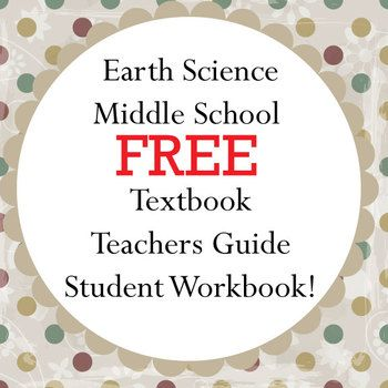 Are you working on developing earth science curriculum? Do you need another reference guide or looking for some ideas to use in your classroom? Here is a trio of resources to help you out! Teacher's Guide - 342 pagesStudent Workbook - 365 PagesTextbook - 725 pagesSections (taken from the table of contents)What Is Earth Science?
