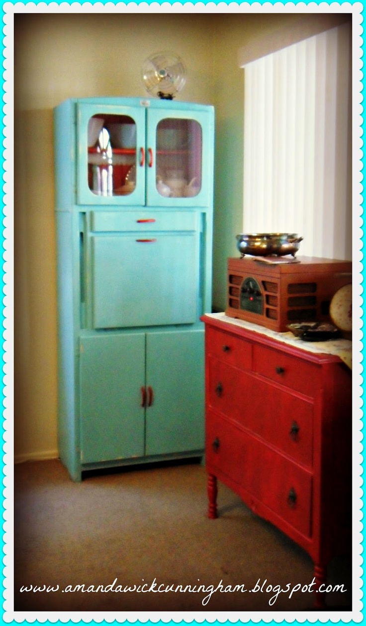 116 best Holy Hoosier images on Pinterest | Vintage kitchen cabinets ...