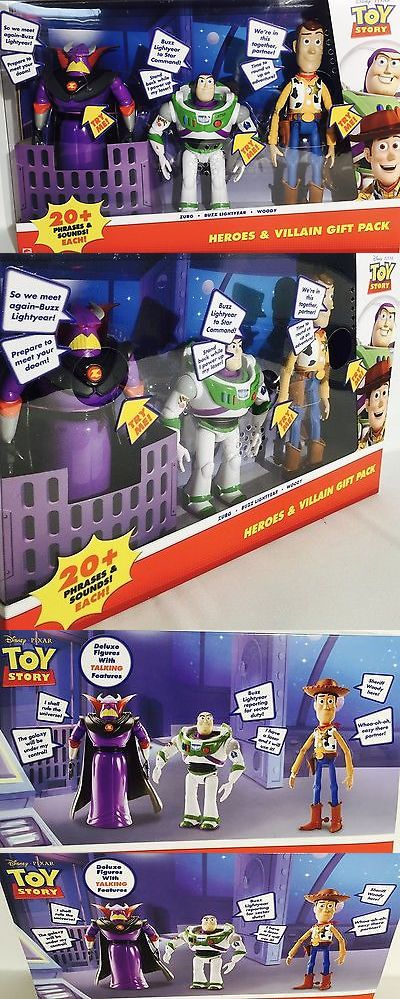 Toy Story 19223: Disney Pixar Toy Story Heroes And Villain Gift Pack Talking Zurg Buzz Li... No Tax -> BUY IT NOW ONLY: $50.64 on eBay!