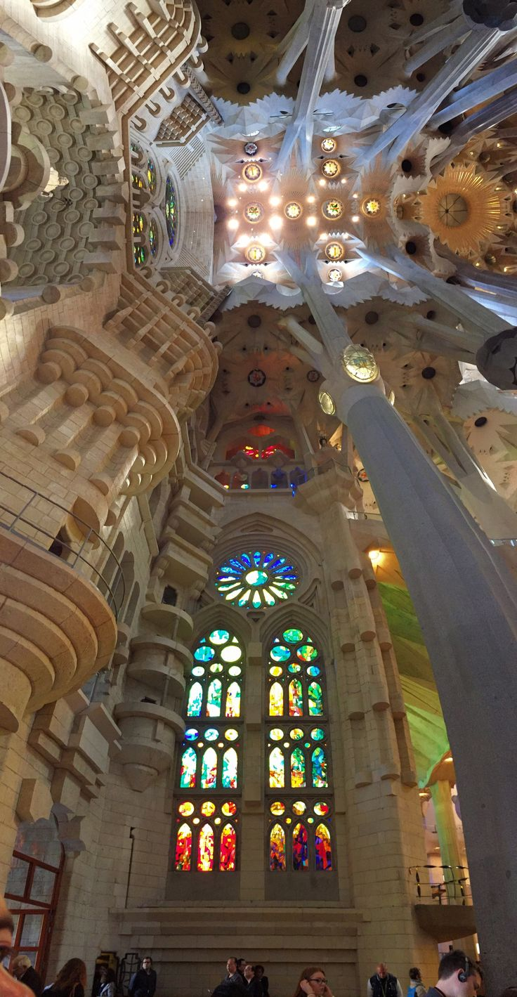 Antoni Gaudí. His life long work, Sagrada Familia, is a dedication to his faith and nature. You will feel it in your soul.