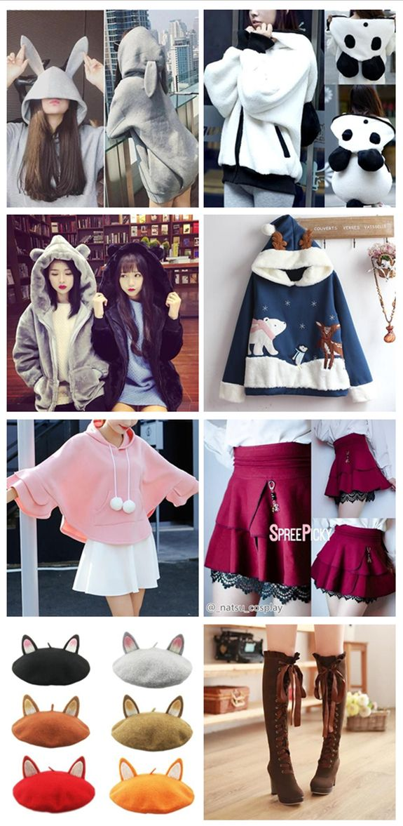 ad6c0112a0 Top 8 Kawaii Winter Outfits that You can t Miss Out kawaii winter outfits  kawaii winter outfits sweaters kawaii winter outfits asian fashion kawaii  winter ...