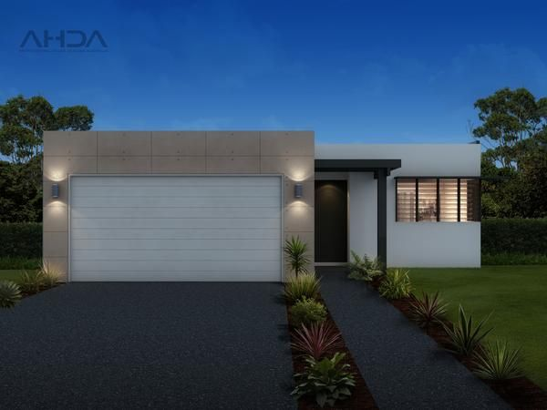 This four bedroom family home has a modern layout with unique touches. The fairly long and skinny design begins with the master bedroom at the front of the residence which boasts a walk through, open walk in robe and private ensuite. The right side of the floor plan features three bedrooms, all with built in wardrobes, a dedicated lounge room and the main bathroom and laundry. At the rear of the home is the open plan kitchen, dining and living rooms which open out to the outdoor patio area.