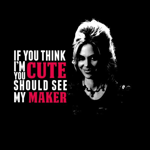 "True Blood - ""If you think I'm cute, you should see my maker."""