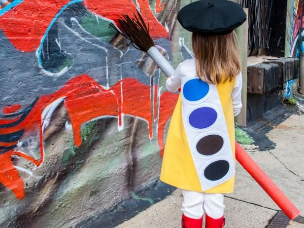 DIY Network has ideas and instructions for making unique Halloween costumes on a budget.