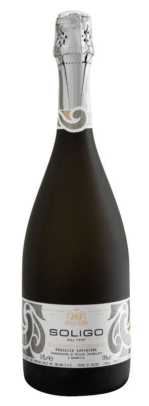 #Prosecco #Millesimato - Cantina Colli del Soligo. #Etichetta realizzata dallo Studio #Francescon & #Collodi #etichette_vino