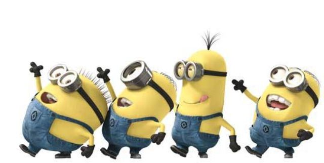 Minions, funny, yellow, despicable me, gru