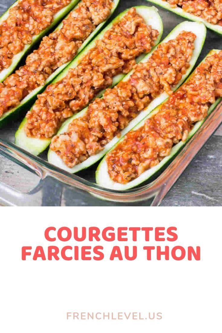 Courgettes farcies au thon – #recette #cuisine #santé #remèdes #gateau