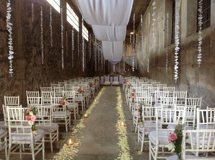 Ex Fábrica La Carolina, en Puebla. | 14 Lugares de ensueño para casarte en México