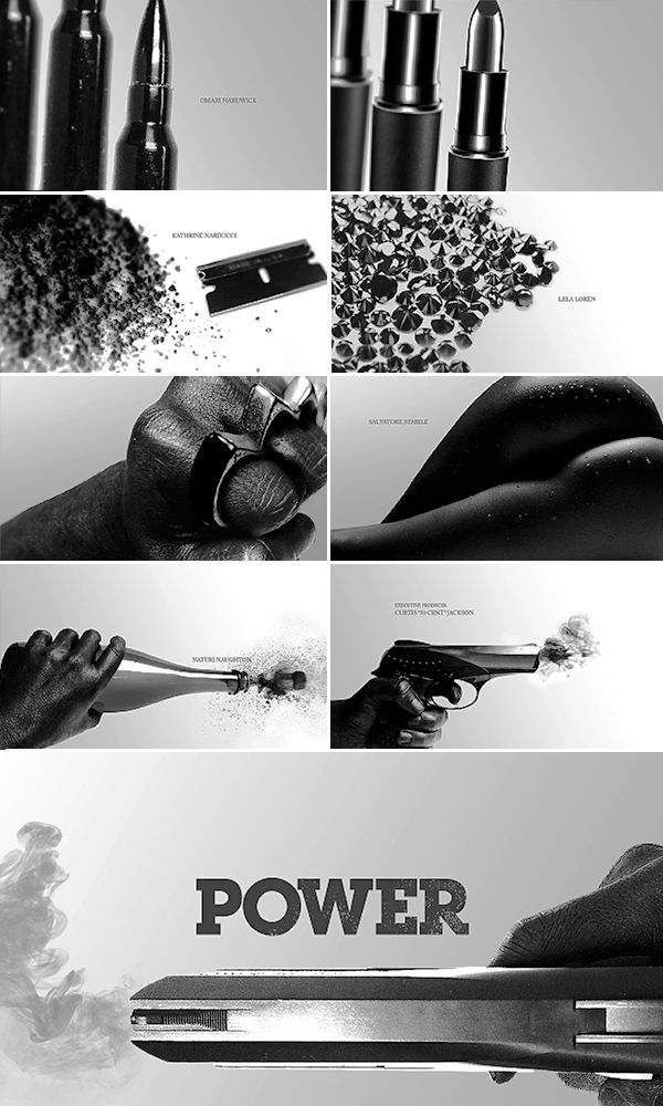 "STARZ: Title Sequence ""Power"" on Behance"