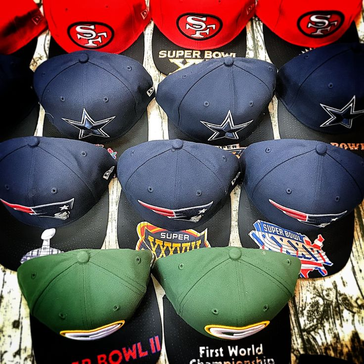 Super Bowl Champions Team hat collection  #neweracaps  #neweracap #newerahat #newera #superbowl #dallas #dallascowboys  #patriots  #sf49ers #greenpackers #tampabay #packers #chicagobears #chiefs #colts
