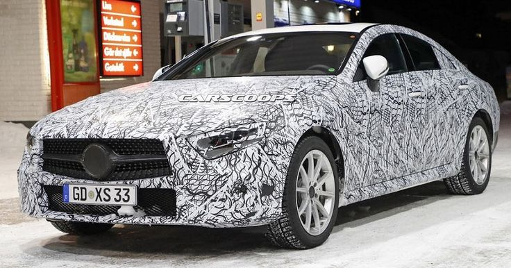 Upcoming Mercedes CLS To Be Offered With A Hybrid AMG Engine #AMG #LA_Auto_Show