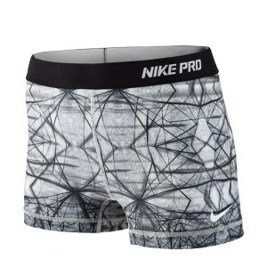 Nike Pro 2.5'' Short II, summit white /Fitnesstukku.fi