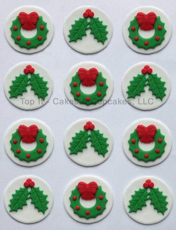 Weihnachten cupcakes muffins