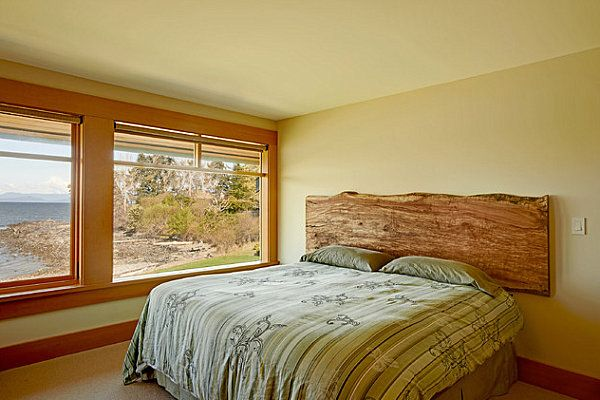 Modern country bedroom by Live Edge Design