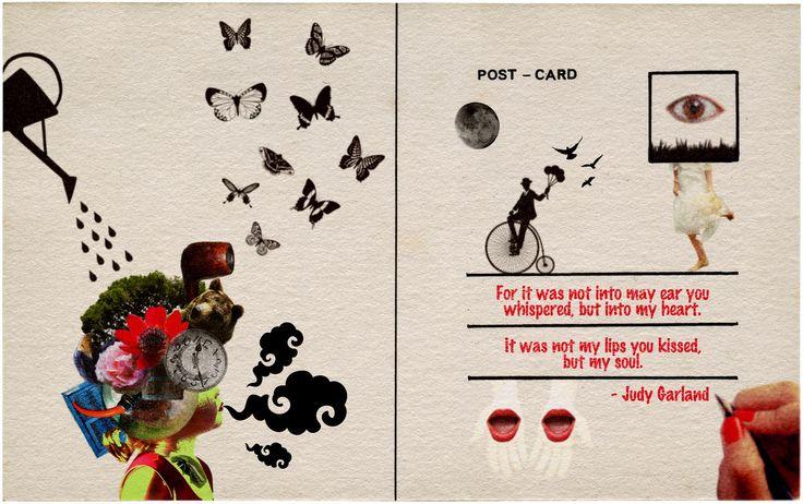 あなたがささやいたのは、私の耳じゃなく、私のハート。 あなたがキスしたのは、私の唇じゃなく、私のこころ。ー ジュディ ガーランド