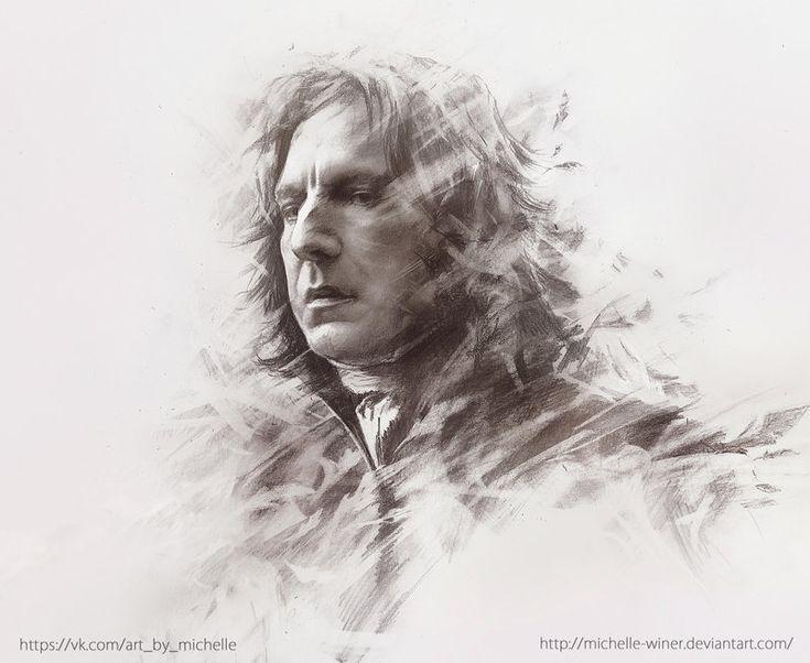 """""""Dᴏɴ'ᴛ. Lɪᴇ. Tᴏ ᴍᴇ."""", masterseverussnape: Severus Snape by..."""