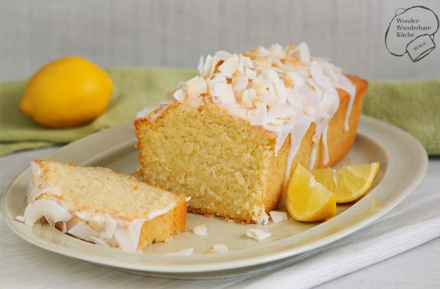 Wonder Wunderbare Küche: Kokos-Zitronen-Kuchen