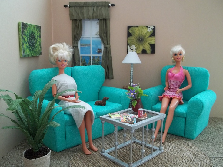 3 Piece Furniture For Fashion Dolls. Find This Pin And More On Barbie  Living Room ... Part 51