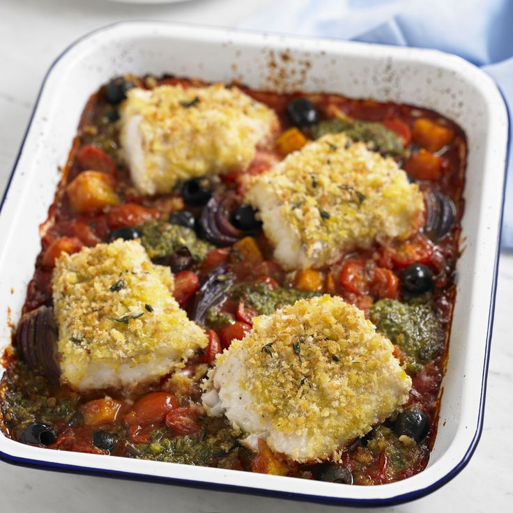 Keep supper simple with this all in one baked dish.