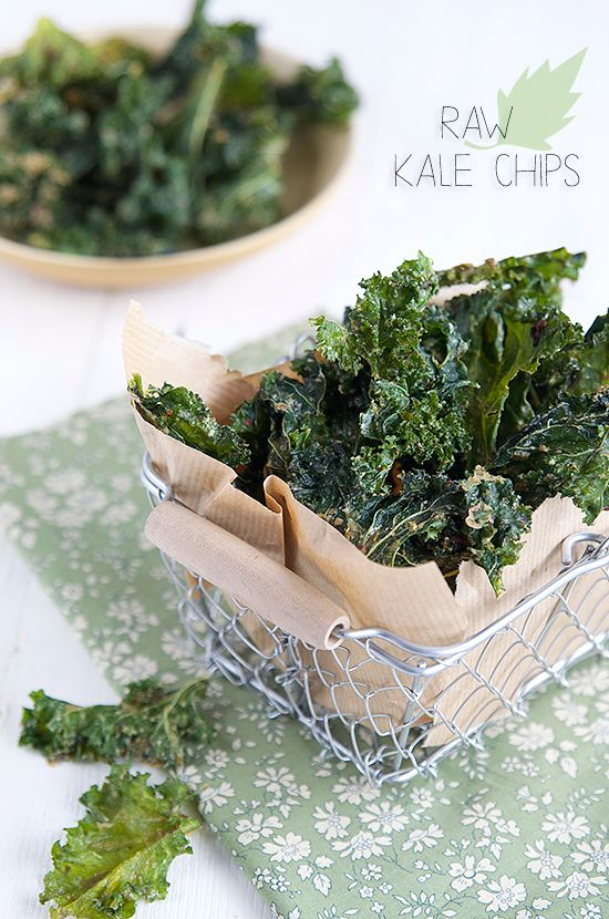 Chips de kale aux 3 poivres | by VG-Zone [French Recipe]