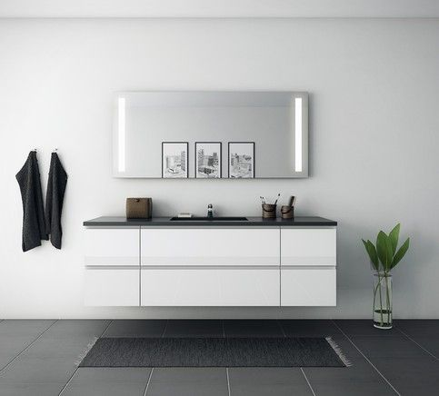 Bad galleri - Inspiration til dit badeværelse - kitchn.dk - kitchn.dk