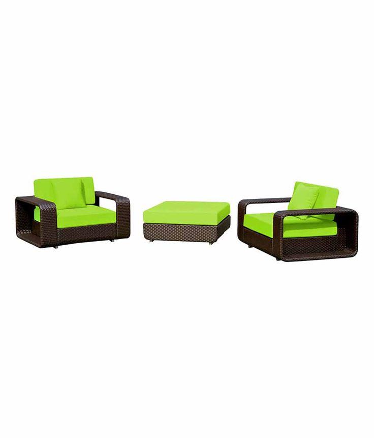 Loved it: Wonderweave Furnitures Pvt Ltd Green Single Seater Sofa Set, http://www.snapdeal.com/product/wonderweave-furnitures-pvt-ltd-green/399053274