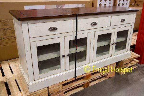 Bayside Furnishings 72″ Accent Cabinet. #Costco #FrugalHotspot