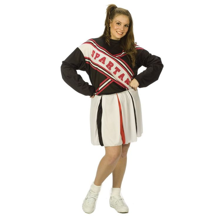Women's Spartan Cheerleader Costume Large