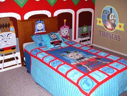Thomas The Train Bedroom Decor Favorable