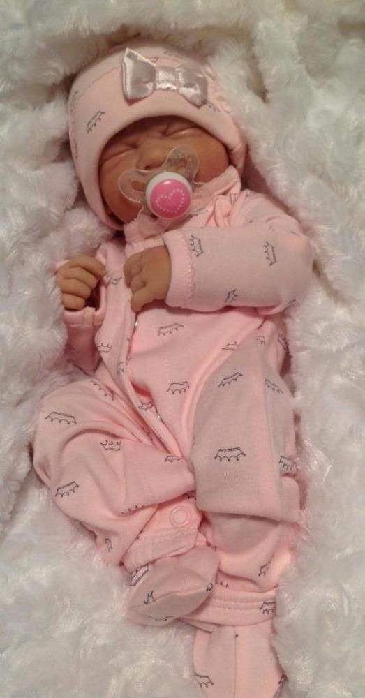 PRINCESS BABY GIRL! Berenguer Life Like Reborn Preemie Pacifier Doll + Extras