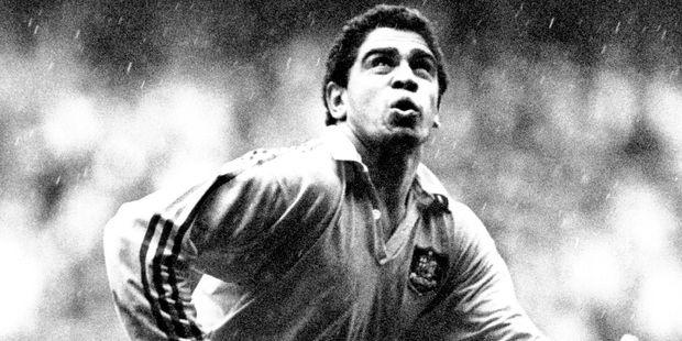 Mark Ella in action for the Wallabies during the 1980's. Photo / Photosport