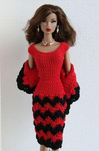 Crochet Clothes For Barbie Doll (Barbie Fashion) to BRL 25 in PrecioLandia Brazil (42cwsq)