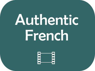 Vidéos publicitaires en français, avec les transcriptions.