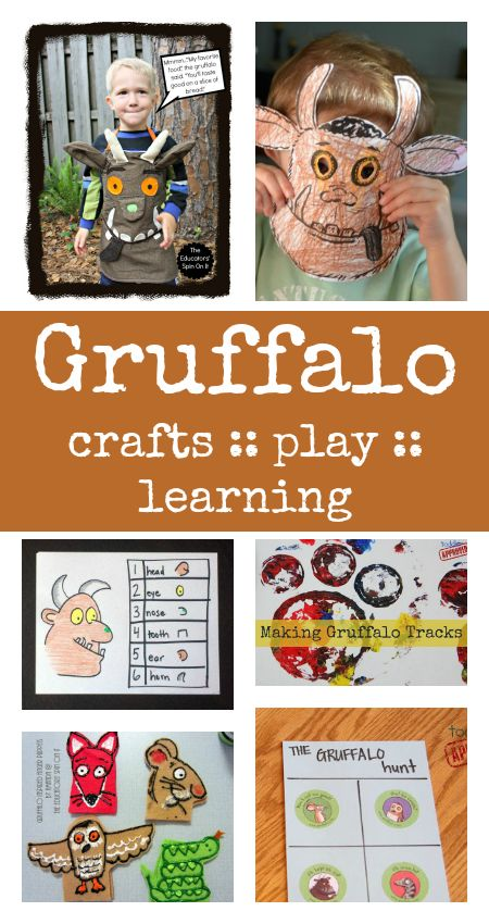 gruffalo crafts :: gruffalo activities :: gruffalo party ideas