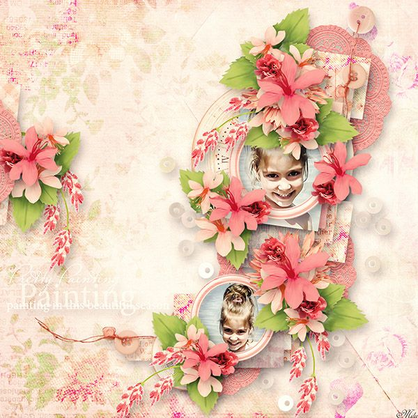 Pretty Painting by Eudora Designs  Templates Lovely Day Part7 by Eudora Designs