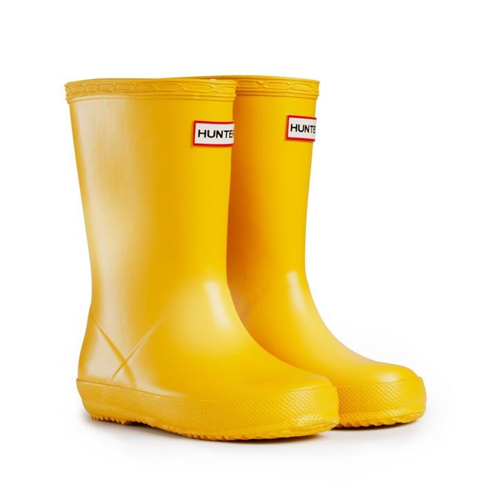 Kids' First - Yellow   Hunter Boot Next choice for Eli as her pink ones are now too small!