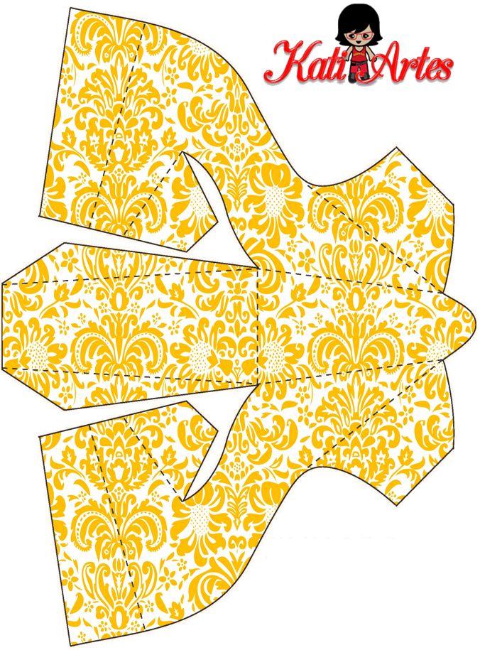 SHOE FAVOR- http://eugeniakatia.blogspot.com/2014/02/sapatinhos-porta-baton.html