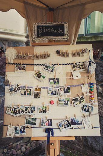 Polaroid-Gästebuch