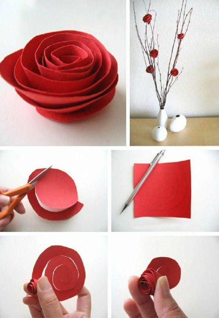 Blumen Selber Basteln   55 Ideen Für Kinder Und Erwachsene, Die Gern Basteln