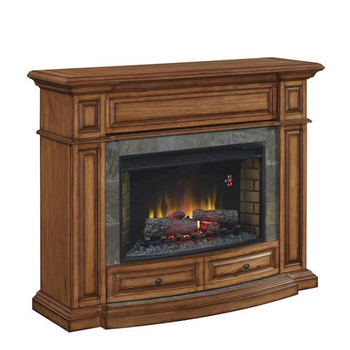 Owenton Electric Fireplace in Vintage Pecan at Menards - Best 10+ Menards Electric Fireplace Ideas On Pinterest Stone