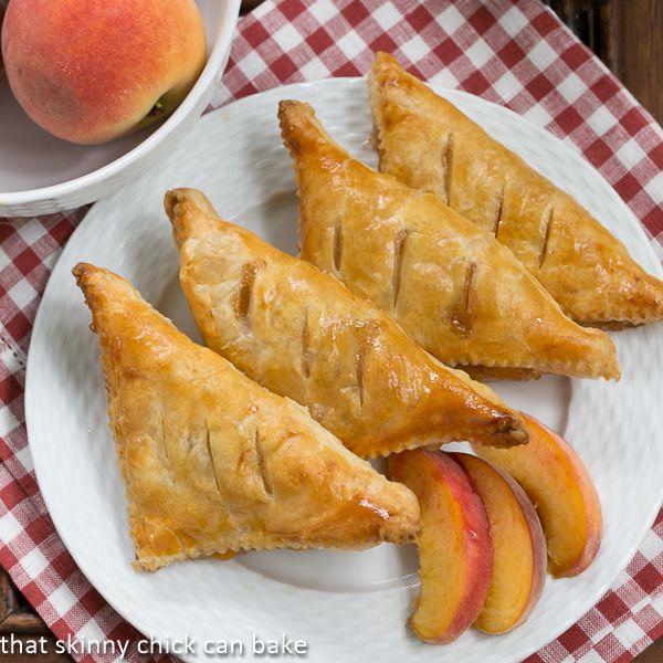 ... aux Pêches or Peach Turnovers | Recipe | Peach Turnovers and Peaches