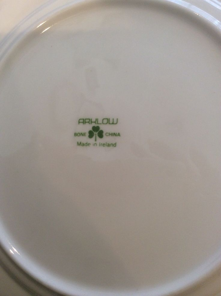 Arklow Pottery Plate Makers Marks Florence Fortuneu0027s Antique Shop Ireland Circa. 1980u0027s. & 36 best Vintage Arklow Pottery images on Pinterest | Ireland Tea ...